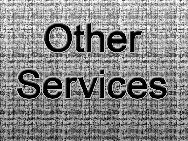 خدمات اخرى